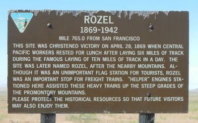 Rozel Marker image. Click for full size.