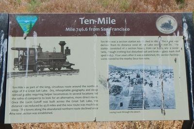 Ten-Mile Marker image. Click for full size.