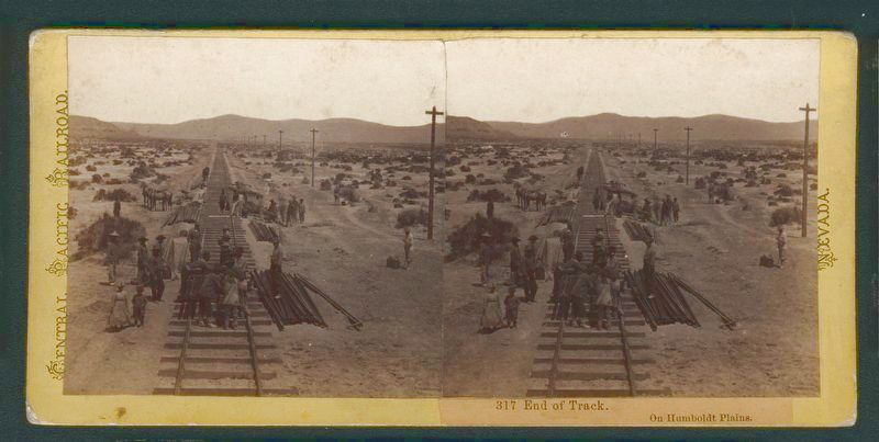 Laying Track on the Desert image. Click for full size.