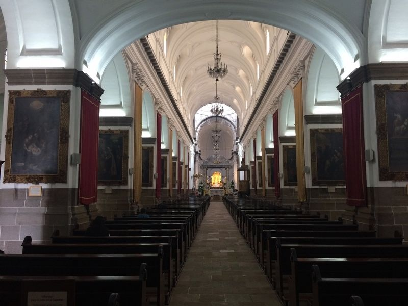 The interior of the Cathedral of Guatemala City image. Click for full size.