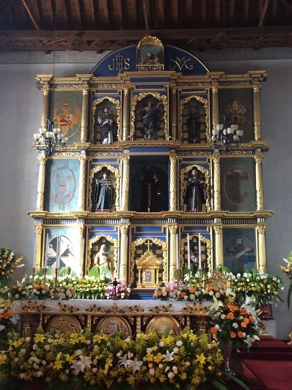 "The ""retablo"" of the Church of San Francisco of Tecpán image. Click for full size."