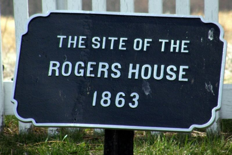 The Rogers House Marker image. Click for full size.