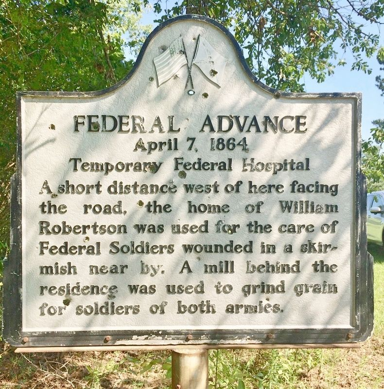 Federal Advance Marker image. Click for full size.