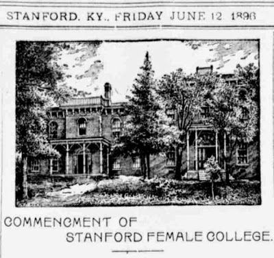 Stanford Female College image. Click for full size.