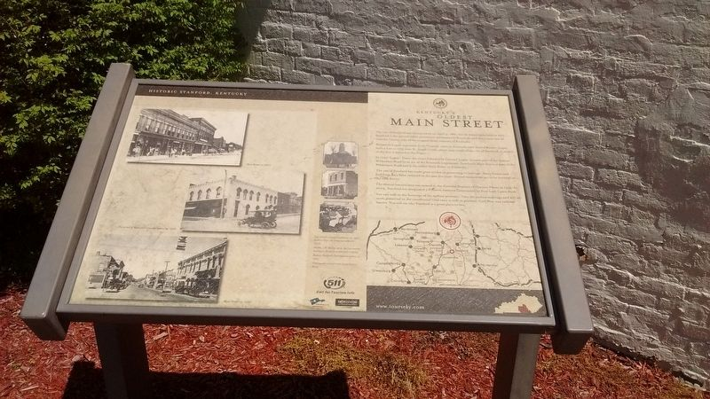 Kentucky's Oldest Main Street Marker image. Click for full size.