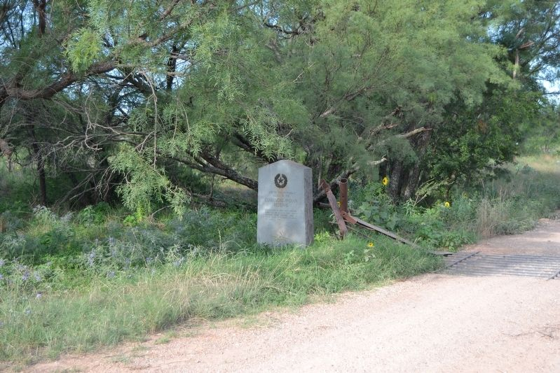 Site of the Principal Village of the Comanche Indian Reserve Marker image. Click for full size.