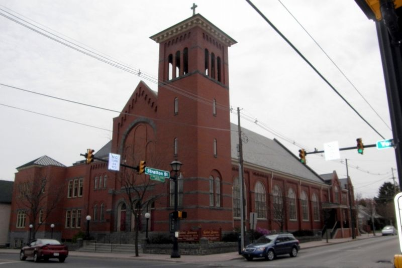 The current St. James Lutheran Church image. Click for full size.