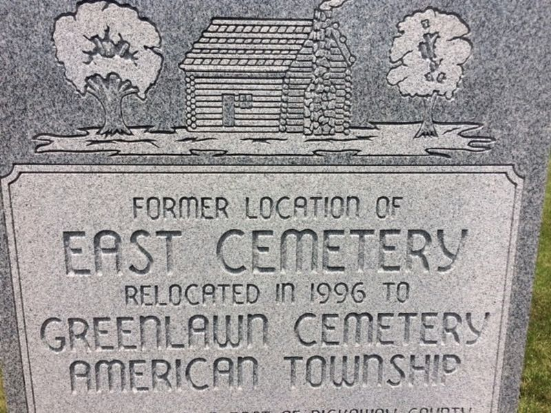 East Cemetery Marker image. Click for full size.