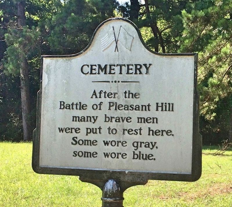 Old Pleasant Hill Cemetery Marker image. Click for full size.