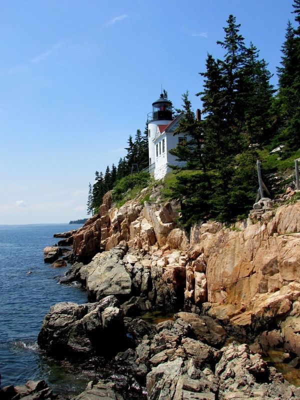 Bass Harbor Head Light Station image. Click for full size.
