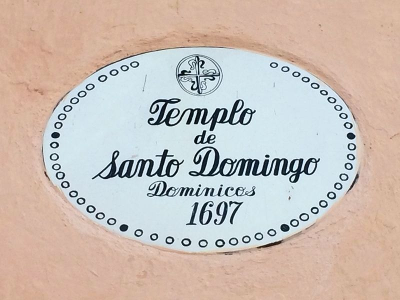 An additional Temple of Santo Domingo Marker image. Click for full size.
