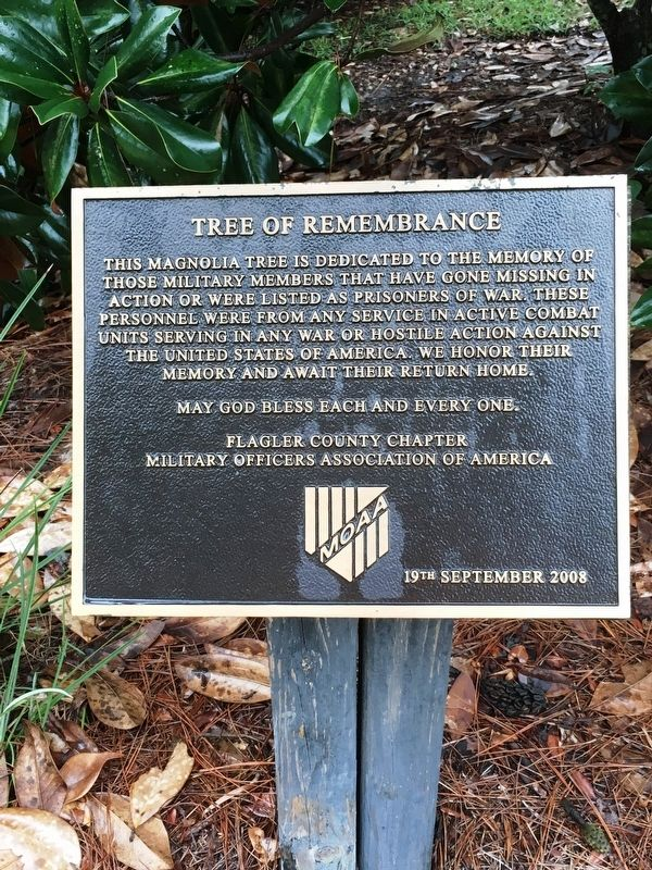 Tree of Remembrance Marker image. Click for full size.