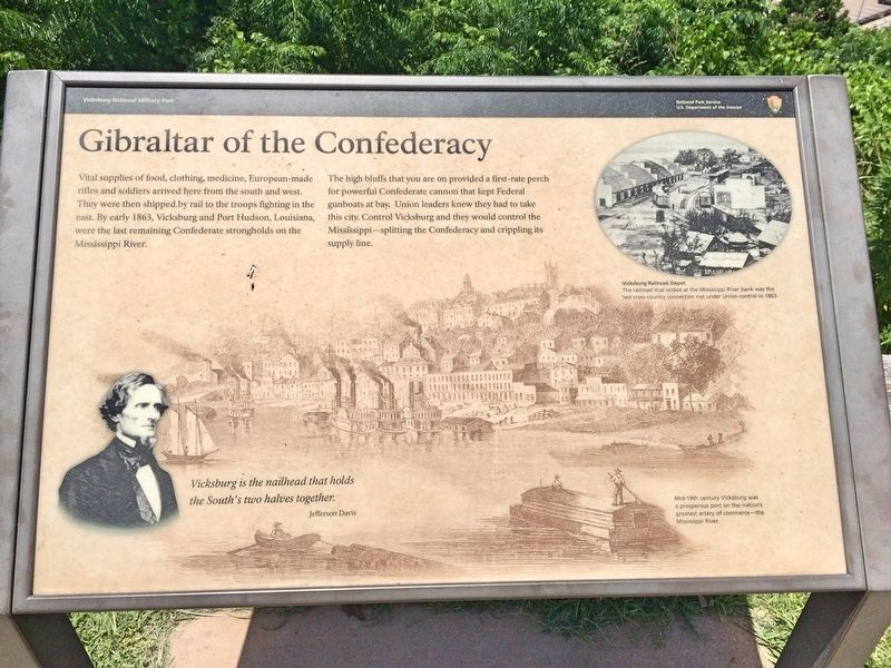 Gibraltar of the Confederacy Marker image. Click for full size.