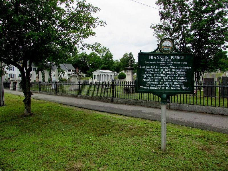 Marker at the Old North Cemetery image. Click for full size.