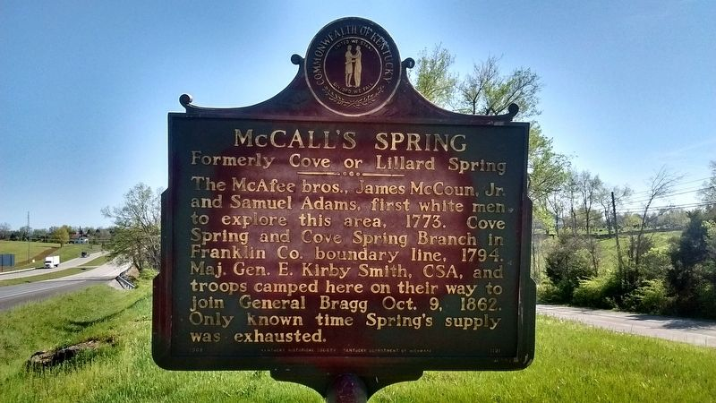 McCall's Spring Marker image. Click for full size.
