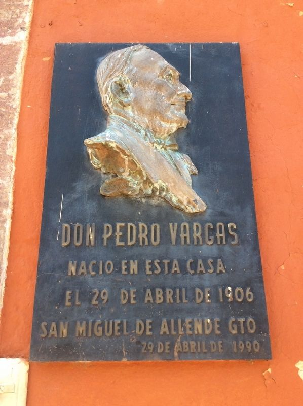 House of Pedro Vargas Marker image. Click for full size.