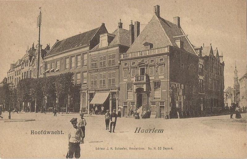 Hoofdwacht - Haarlem image. Click for full size.