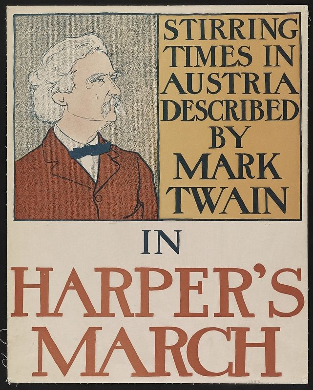 <i>Stirring times in Austria described by Mark Twain in Harper&#39;s March</i> image. Click for full size.