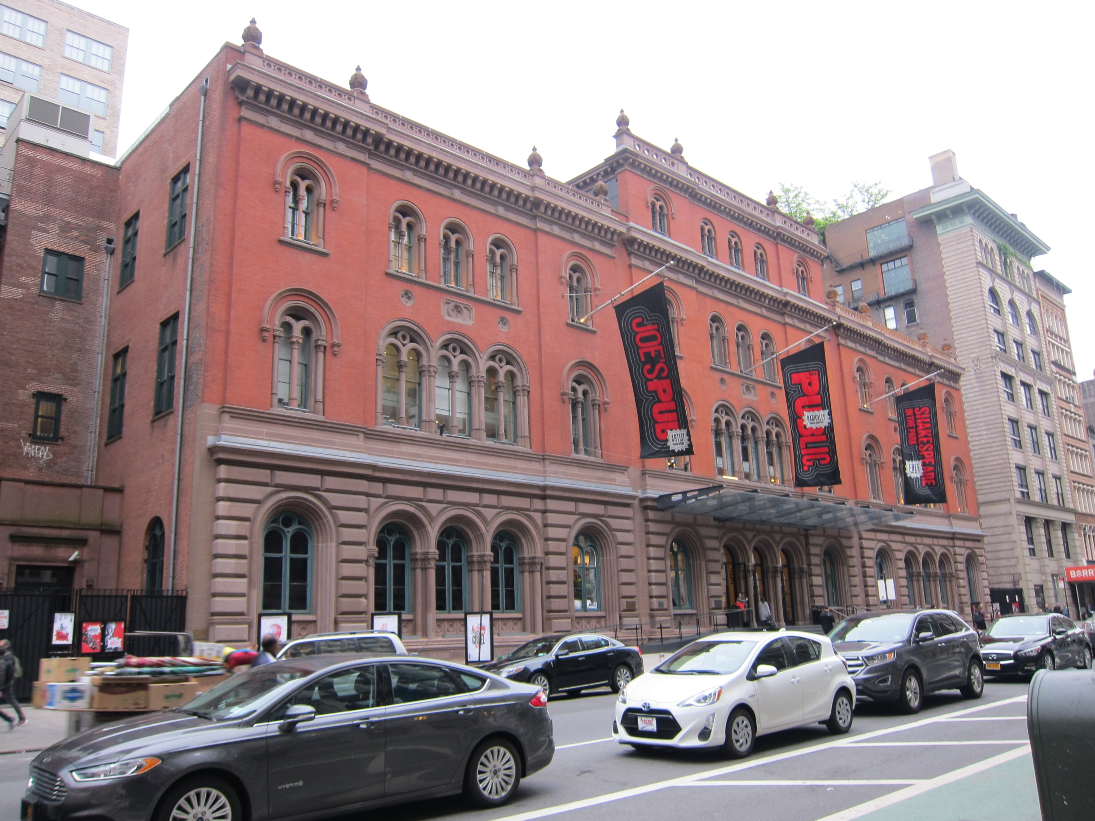 Formerly the Astor Library, Now the Joseph Papp Public Theater