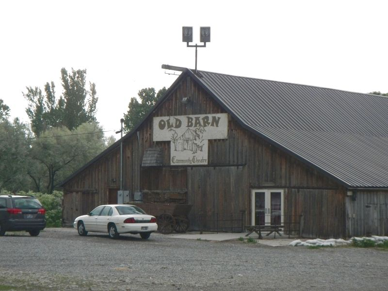 The old Stage Barn image. Click for full size.