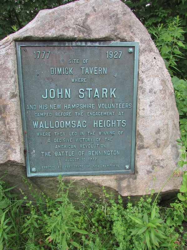 Dimick Tavern Marker image. Click for full size.
