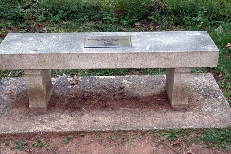 Rededication bench image. Click for full size.