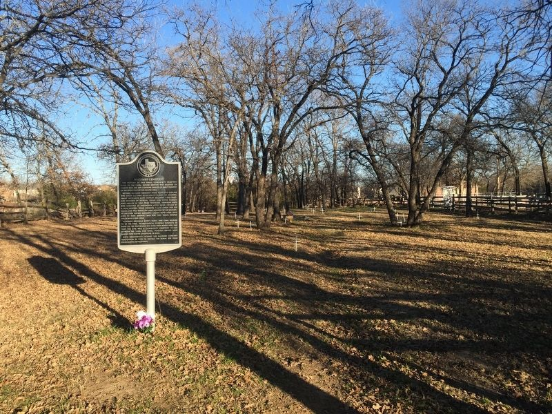McCombs Cemetery and Marker image. Click for full size.