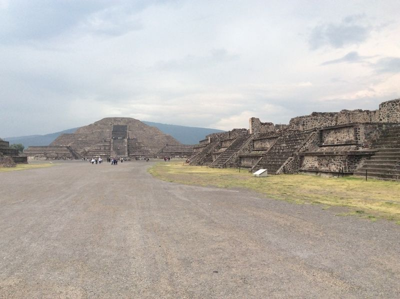 Late Occupation of Teotihuacan and the Mexica Presence Marker image. Click for full size.