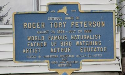 Roger Tory Peterson Marker image. Click for full size.