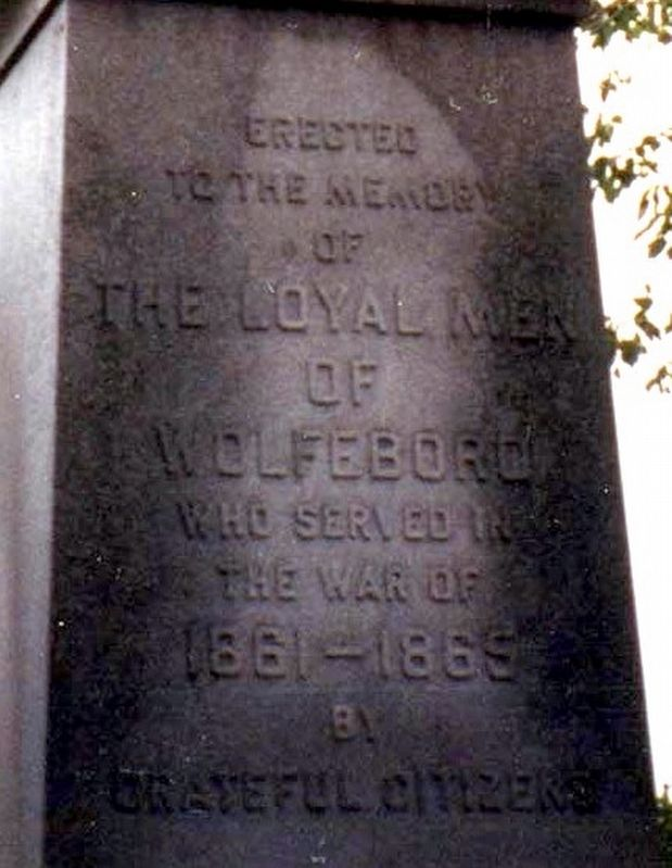 The Loyal Men of Wolfeboro image. Click for full size.
