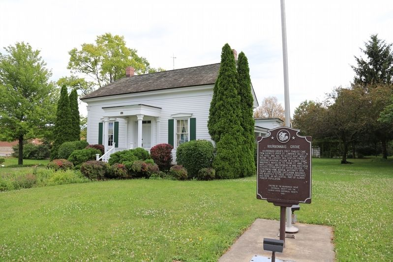 The Letourneau Home Museum and Marker image. Click for full size.