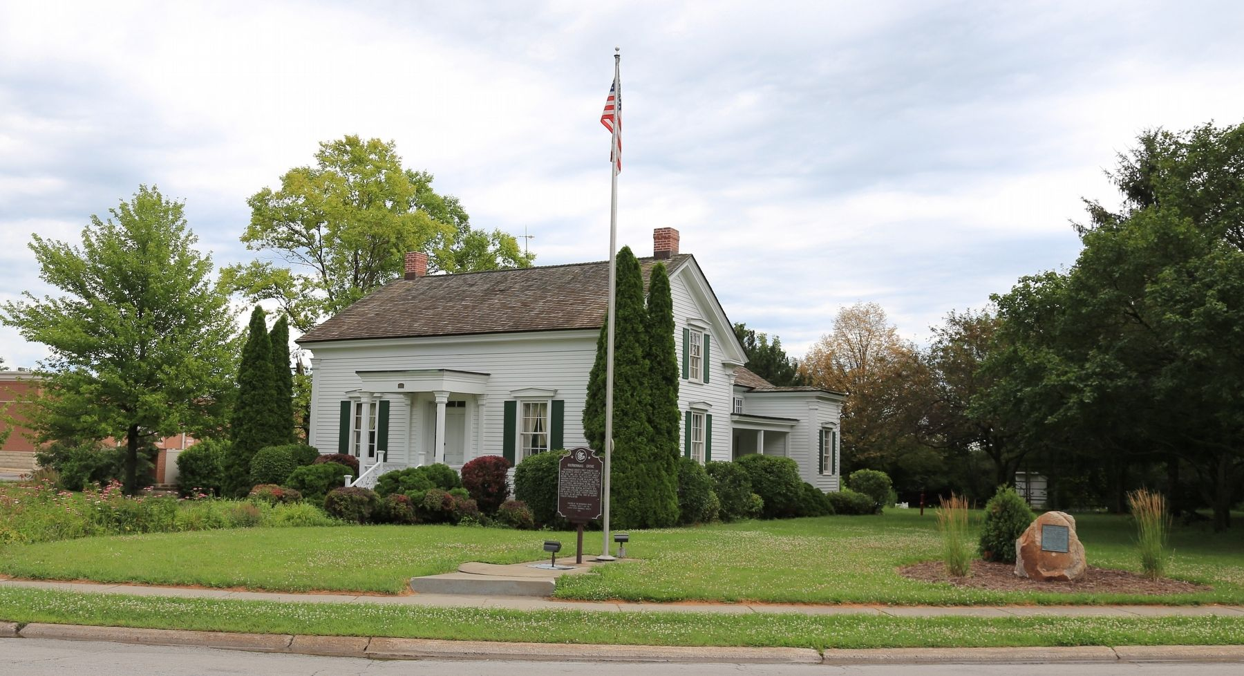The Letourneau Home at the Bourbonnais Grove Historical Site image. Click for full size.