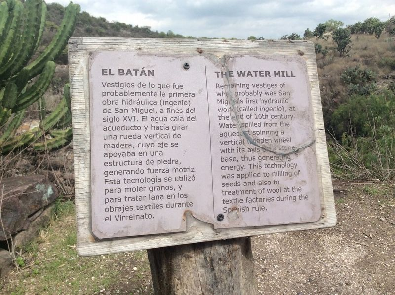 The Water Mill Marker image. Click for full size.
