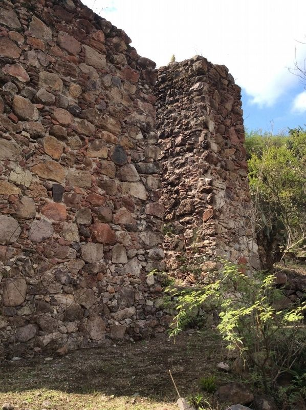 Another view of the mill remains image. Click for full size.