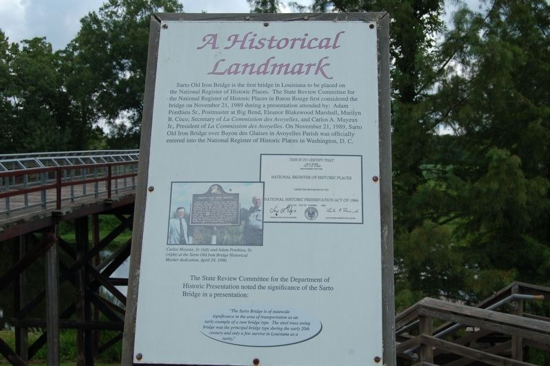 A Historic Landmark Marker image. Click for full size.