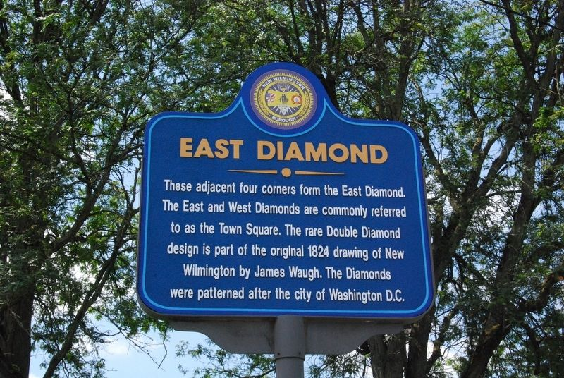 East Diamond Marker image. Click for full size.