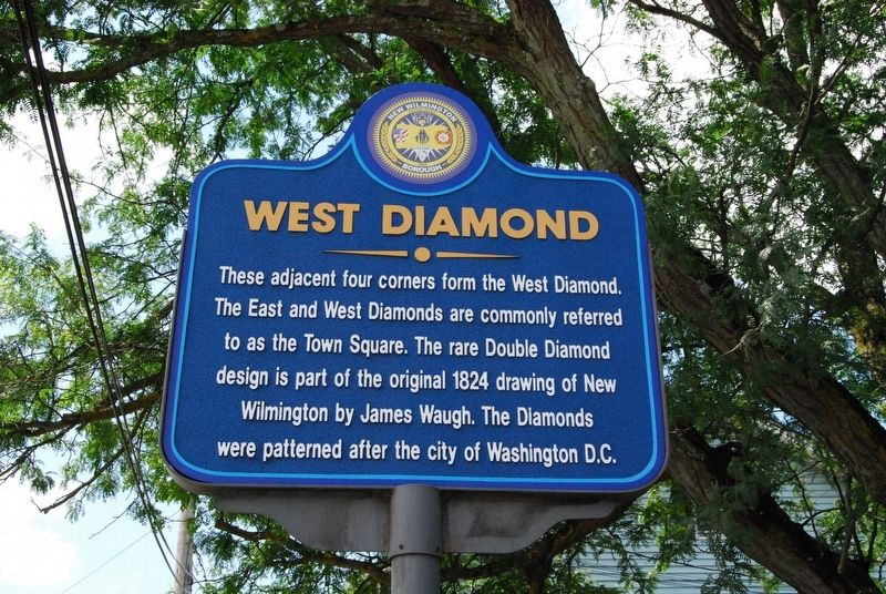 West Diamond Marker image. Click for full size.