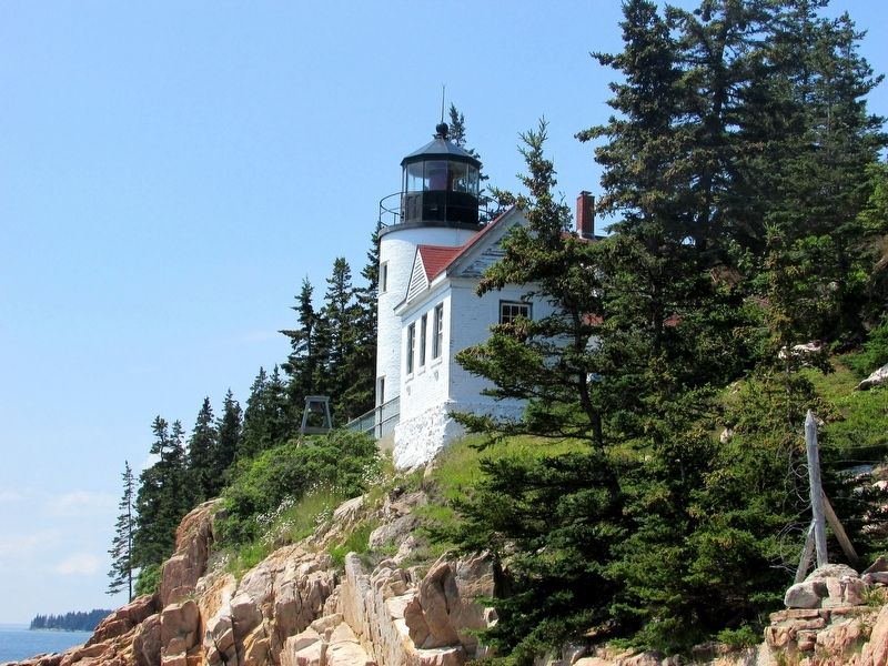 Bass Harbor Lighthouse image. Click for full size.