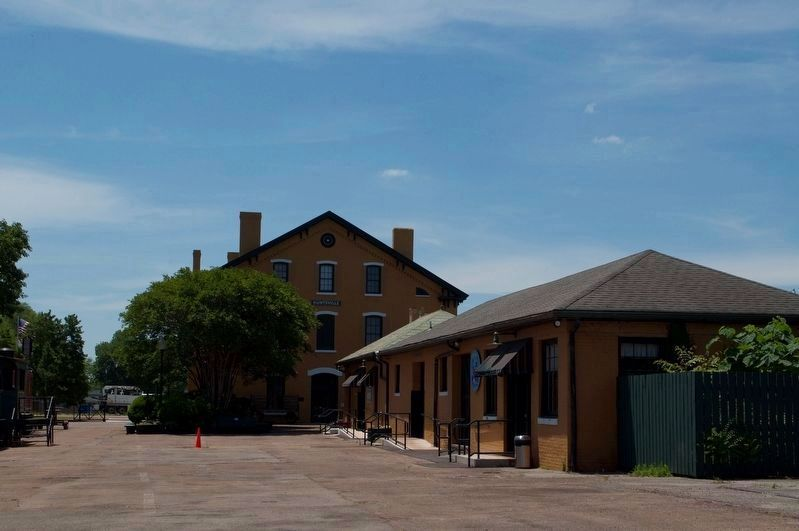 Passenger Depot Back view image. Click for full size.