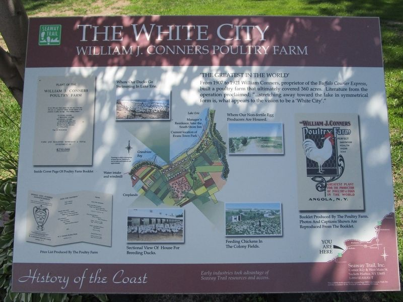The White City Marker image. Click for full size.