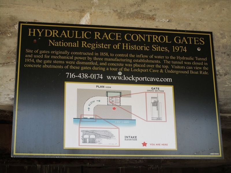 Hydraulic Race Control Gates Marker image. Click for full size.