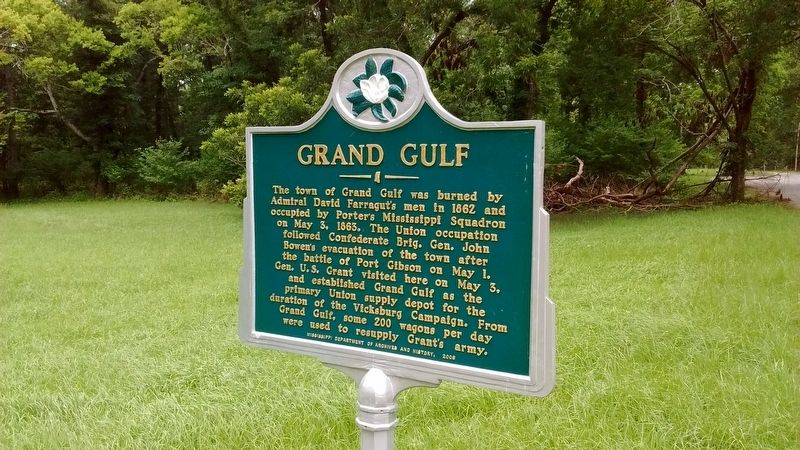 Grand Gulf Marker image. Click for full size.