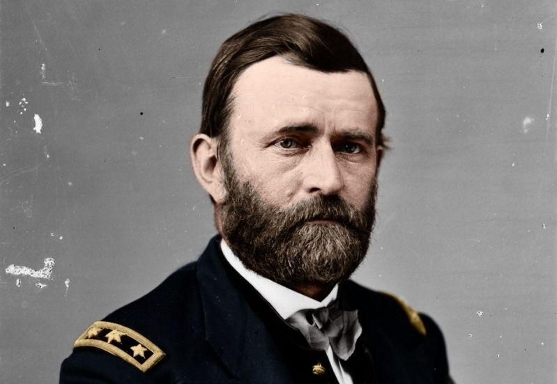 General Ulysses S. Grant image. Click for full size.