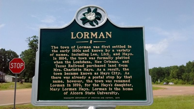 Lorman Marker image. Click for full size.