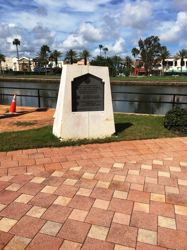 Jackie Robinson Ballpark and Museum Marker image. Click for full size.