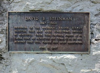 David B. Steinman Marker image. Click for full size.
