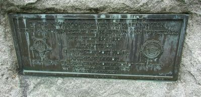 Bennington Civil War Monument Marker image. Click for full size.