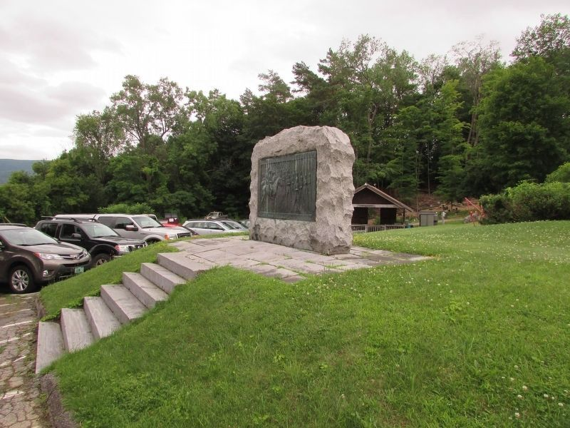 Bennington Civil War Monument image. Click for full size.