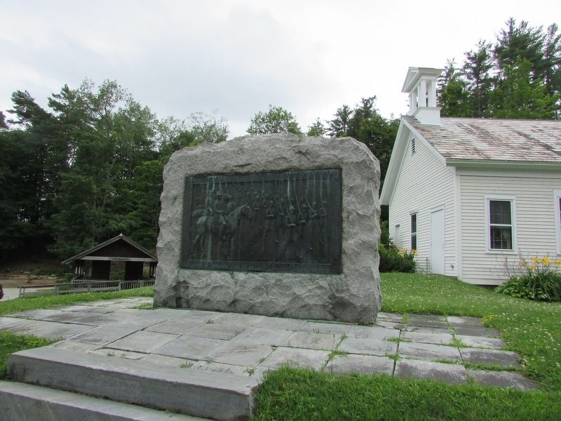 Monument at the Bennington Museum image. Click for full size.