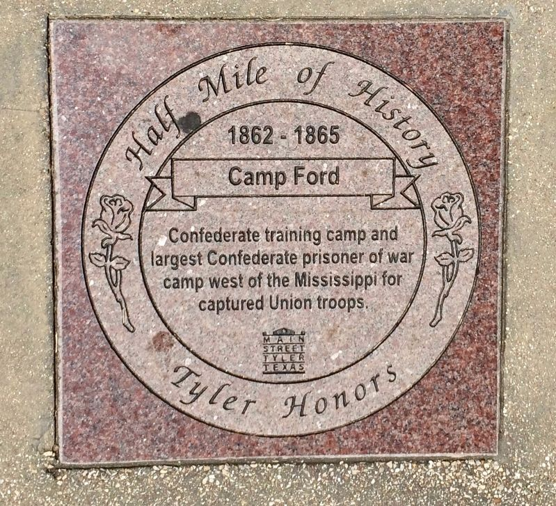 Camp Ford Marker image. Click for full size.